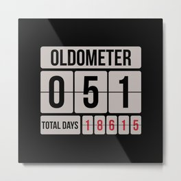 Oldometer Metal Print