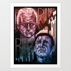Blade Runner 30th anniversary Art Print