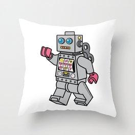 Love Bot Throw Pillow