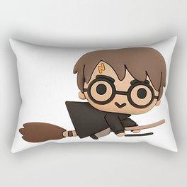 Little Wizard Rectangular Pillow