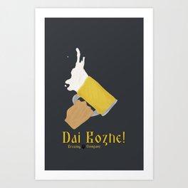 Dai Bozhe! Art Print