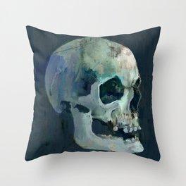 Ice Skull- 756 Throw Pillow