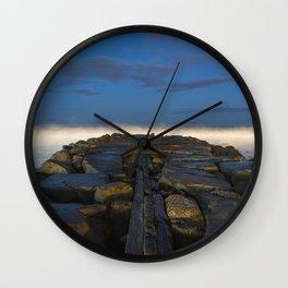 Cloudy Horizon Wall Clock