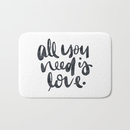 All You Need Is Love Bath Mat