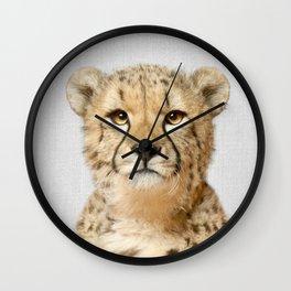 Cheetah - Colorful Wall Clock