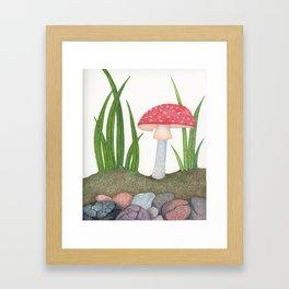 Amanita Muscaria Framed Art Print
