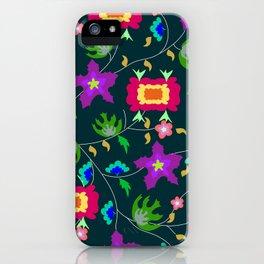 textile pattern iPhone Case
