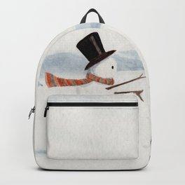 Snowman and Raccoon Backpack