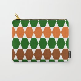 geometric multicolour pattern Carry-All Pouch