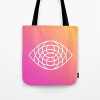 geometry Tote Bags featuring Geometry by Geometry