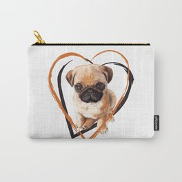 Cute Pug puppy Carry-All Pouch
