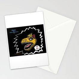 """SHMUT, The Valley-Girl Dinosaur: sez """"Like, Grr, Man Stationery Cards"""