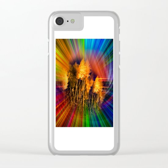 autumn impression Clear iPhone Case