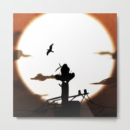 A bloody incident Metal Print