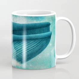 Dream of The Blue Whale Coffee Mug