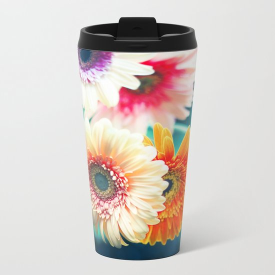 Sunny Love III Metal Travel Mug