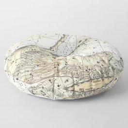 Pegasus Constellation Celestial Atlas Plate 12, Alexander Jamieson Floor Pillow