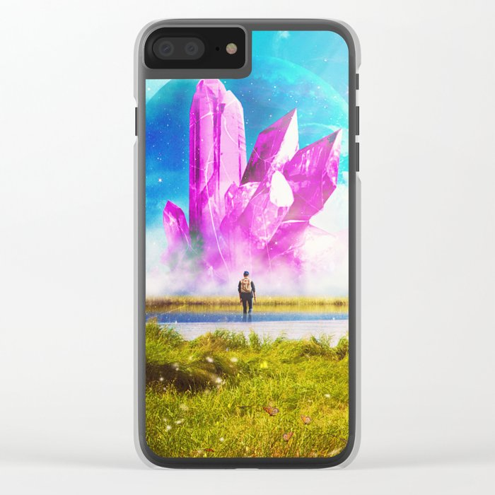 Crossing the River Clear iPhone Case