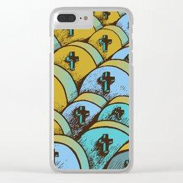 graveyard Clear iPhone Case