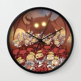 Headlights of Dooom Wall Clock
