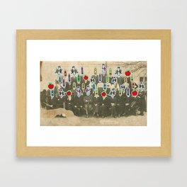 Group Shot Framed Art Print