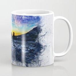 Ocean Sunset Painting Coffee Mug