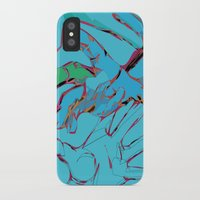 hands iPhone & iPod Cases featuring Hands by Neave Lifschits