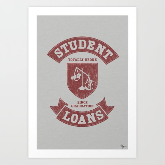 School Pride Art Print