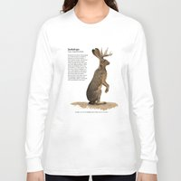 jackalope Long Sleeve T-shirts featuring Jackalope by Jordamn