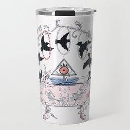 Psychic bathtub. Travel Mug