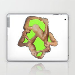 fist pump Laptop & iPad Skin