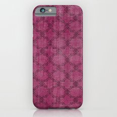 Overdyed Rug 1 Crushed Berry iPhone 6 Slim Case