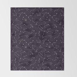 constellations pattern Throw Blanket