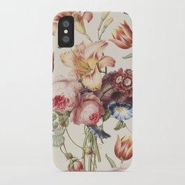 Vintage Botanical No. 3 iPhone Case