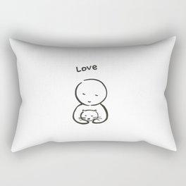 DARUMA, Forever Rectangular Pillow