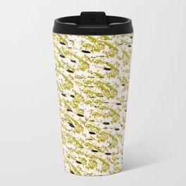 Fractured Florals Travel Mug