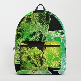Green Mandala-Heart Chakra Backpack