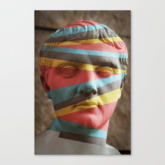 Defaced Canvas Print