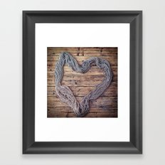 Yarn. Love. Framed Art Print