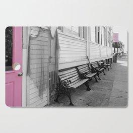 Provincetown, Cape Cod, in Pink Cutting Board