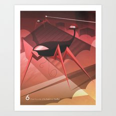 Close Encounter of the Sixth Kind - Conflict Art Print