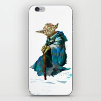yoda iPhone & iPod Skins featuring Yoda by pabpaint