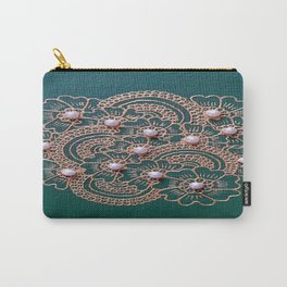 Green Pearl Carry-All Pouch