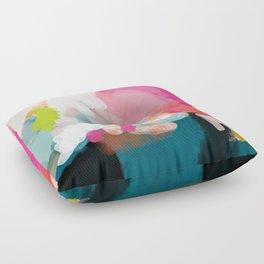 pink sky Floor Pillow