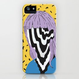 Trippy Girl iPhone Case