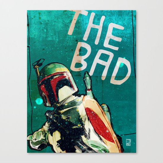 The Good, The Bad & The Ugly: Star Wars Canvas Print
