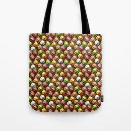 Metallic Beads Pattern Tote Bag