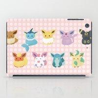 eevee iPad Cases featuring Eevee Evolutions by Nozubozu