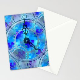 Time Puzzle Stationery Cards