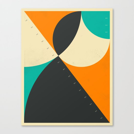 PYTHAGOREAN TRIAD (8) Canvas Print